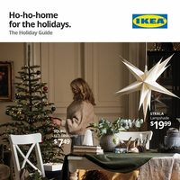 IKEA - The Holiday Guide - Ho-Ho-Home For The Holidays Flyer