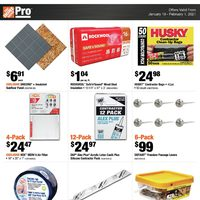 Home Depot - Pro Savings Flyer