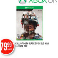 Call Of Duty Black OPS Cold War For Xbox One