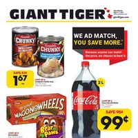 Giant Tiger - Weekly Savings Flyer