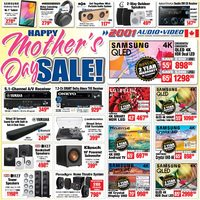 2001 Audio Video - Weekly Deals - Happy Mother's Day Sale Flyer