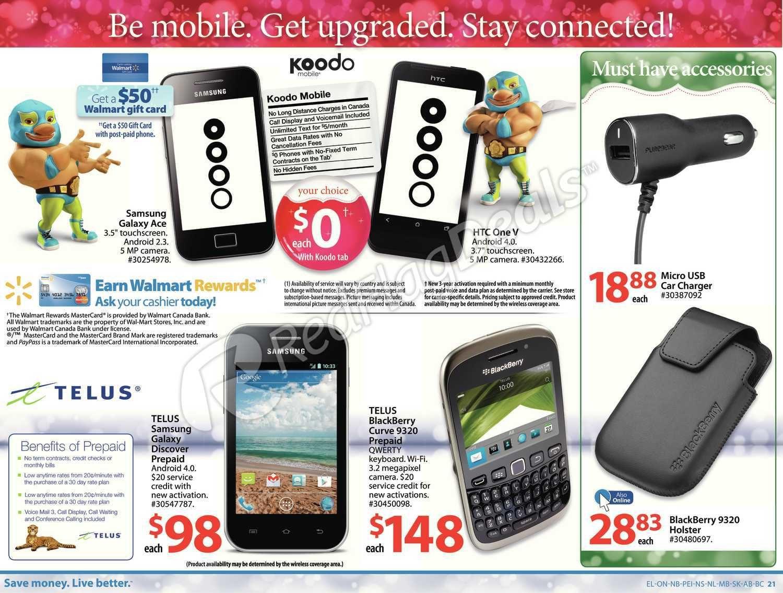 Walmart Weekly Flyer - Handout (NS) - Nov 16 – 22