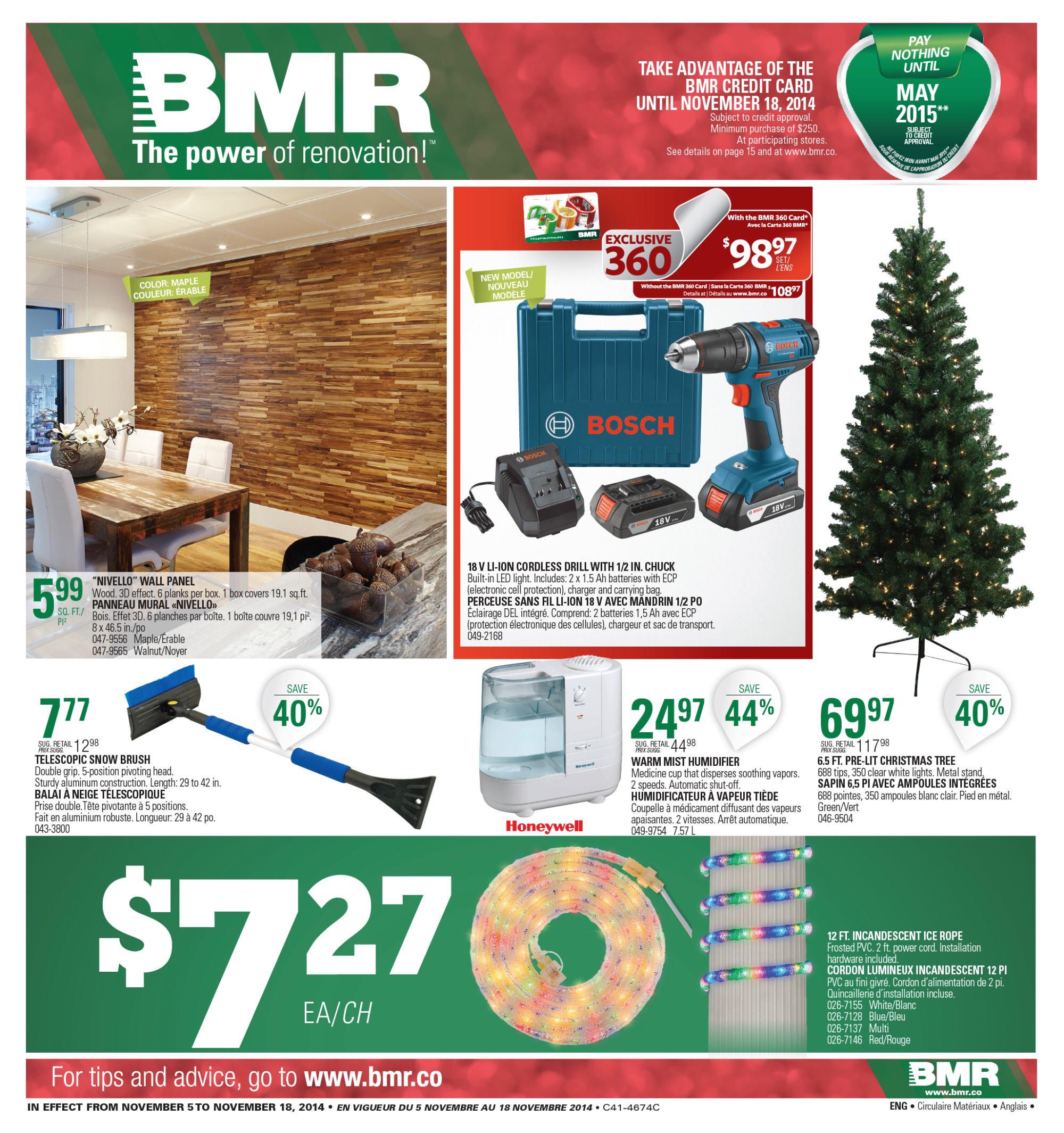 Bmr Weekly Flyer Weekly Nov 5 18 Redflagdealscom