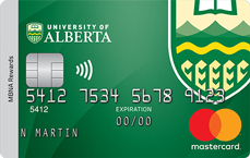 University of Alberta MBNA Rewards Mastercard® credit card