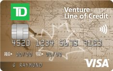 TD Venture Line of Credit VISA® Card