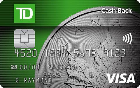 TD Cash Back Visa* Card