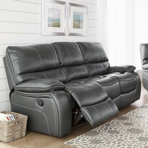 Sears Pendleton Leather Look Power Reclining Sofa Redflagdeals Com
