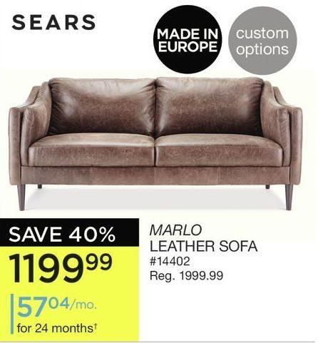sears marlo leather sofa redflagdeals com rh redflagdeals com sears outlet leather sofa sears leather sofa natuzzi