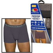 Fruit of Loom Everyday Active Boxer Briefs - $11.99/pack
