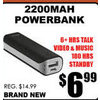 2200Mah Powerbank - $6.99