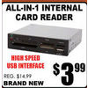 All-In-1 Internal Card Reader - $3.99