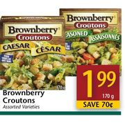 Brownberry Croutons  - $1.99/170 g ($0.70  off)