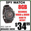 Spy Watch - $34.99