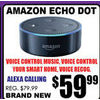 Amazon Echo Dot - $59.99