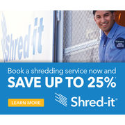 Save Up to 25% on Purge Paper Shredding