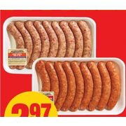 Butcher's Choice Sausages - $2.97 ($0.32 off)