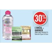 30% Off L'Oréal Skin Care Products