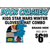 Kids Star Wars Winter Gloves & Hat Combo - $6.99