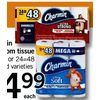 Charmin Bathroom Tissue - $14.99