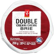 PC Double Cream Brie Cheese  - $5.99