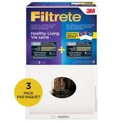 3M Filtrete Healthy Living Ultra/Max Allergen Air Filters - $39.96 ($15.00 off)