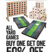 All Yard Games - BOGO 50% off