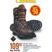 Cabela's Men's Iron Ridge Hunting Boots - $109.97 ($50.00 off)