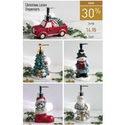Christmas Lotion Dispensers - $14.95 (30% off)