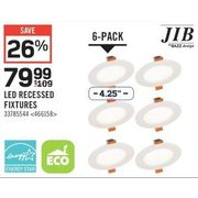 JIB LED Recessed Fixtures - $79.99 (26% off)