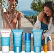 Clarins: Get a Free 5-Piece Hydration Gift Set With Any $100 Purchase!
