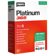 Nero Platinum 365 Billingual (Fr/en) - $44.99 ($25.00 off)