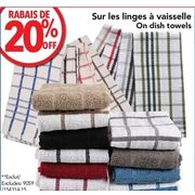 Dish Towels - 20% off