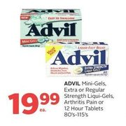 Advil Mini-Gels, Extra Or Regular Strength Liqui-Gels, Arthritis Pain Or 12 Hour Tablets - $19.99