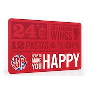 Boston Pizza: Free Pizza or Pasta with Purchase of $50 Gift Card (In-Store Only)